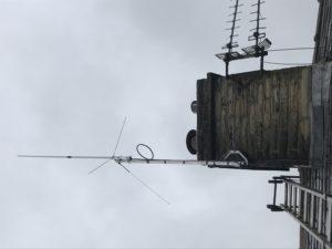 Radio Ham aerial installation