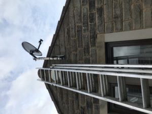 Freesat satellite dish installers Ilkley