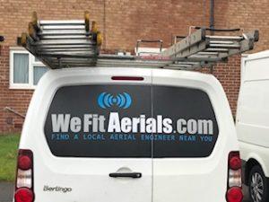 TV aerial Wharfedale